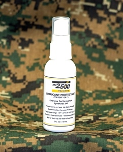 Mil-Comm MC2500 Weapons Oil 2 Ounce Spray Bottle