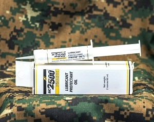 Mil-Comm MC2500 Synthetic Weapons Oil Syringe