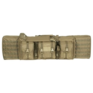 Voodoo Tactical 42 Inch MOLLE Soft Rifle Case / Padded Weapon Case