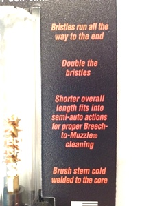 OTIS .22 Cal Limited Breach Cleaning Brush