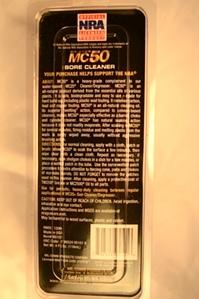 MC50 Bore Cleaner