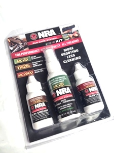 NRA 3 Piece Care Pack