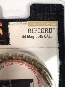OTIS .45 Cal or .44 Mag Ripcord