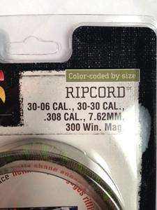 OTIS .308, 30-06, 30-30 Calibers, 7.62mm, and 300Win. Mag. Ripcord