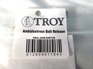 AR15 Ambidextrious Bolt Release