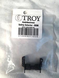 AR15 Ambidextrous Safety Selector SEMI