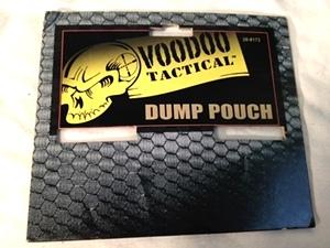 Black Universal Dump Pouch