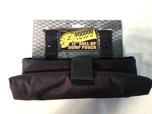 Black Roll Up Dump Bag